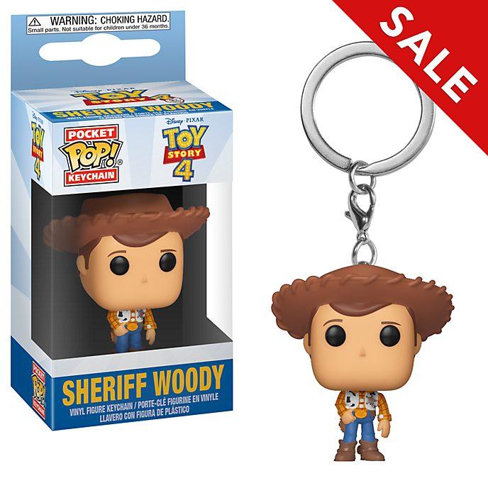 Funko - Toy Story4 - Sheriff Woody - Pop! Schlüsselanhänger aus Vinyl