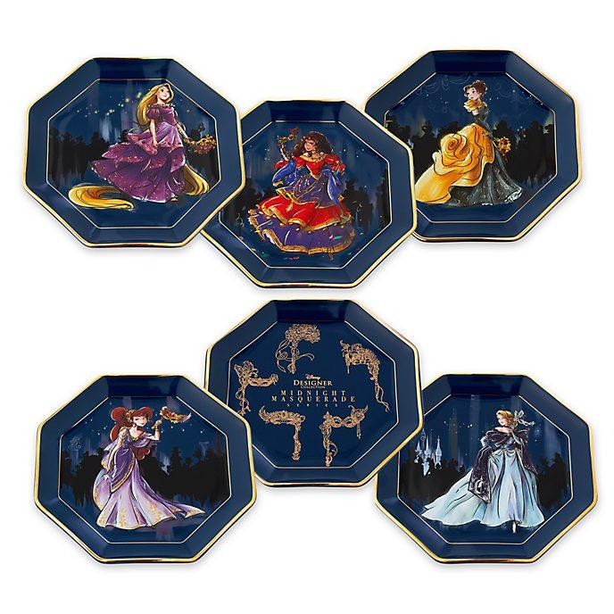 Disney Store - Disney Designer Collection - Teller, 6er-Set