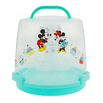 Disney Store Mickey and Minnie Disney Eats Cupcake Stand and Caddy
