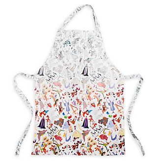 Disney Parks Ink & Paint Apron For Adults