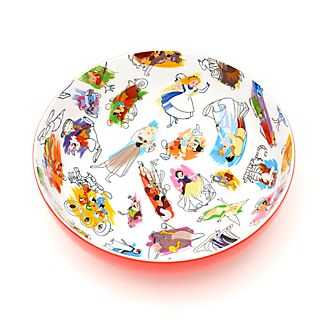 Disney Parks Ink & Paint Serving Bowl