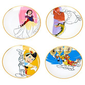 Disney Parks Assiettes Ink & Paint, série 1 sur 2