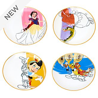 Disney Parks Ink & Paint Plates, Set 1 of 2