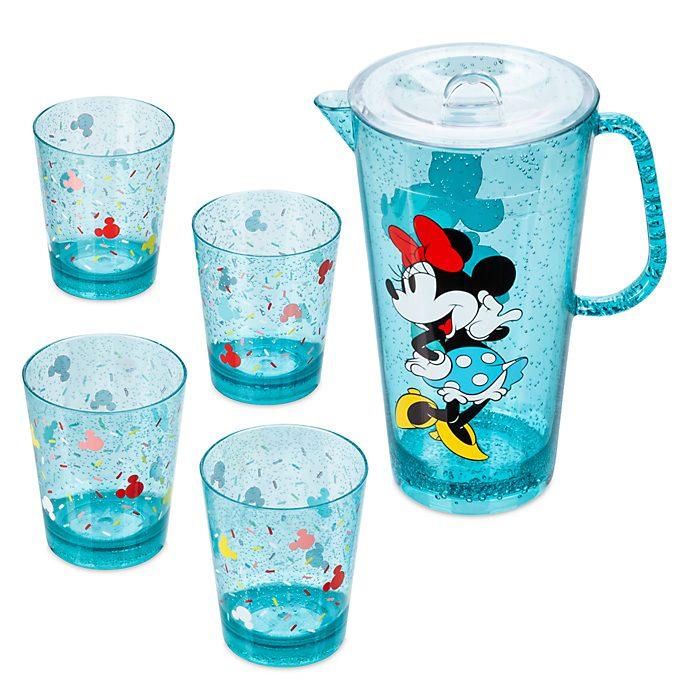 Juego de jarra y vasos Mickey y Minnie, Disney Eats, Disney Store