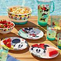 Disney Store Lot de 4 assiettes Mickey et Minnie, Disney Eats