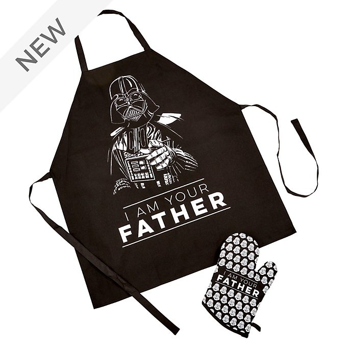 Funko Darth Vader Apron and Oven Mitt Set For Adults