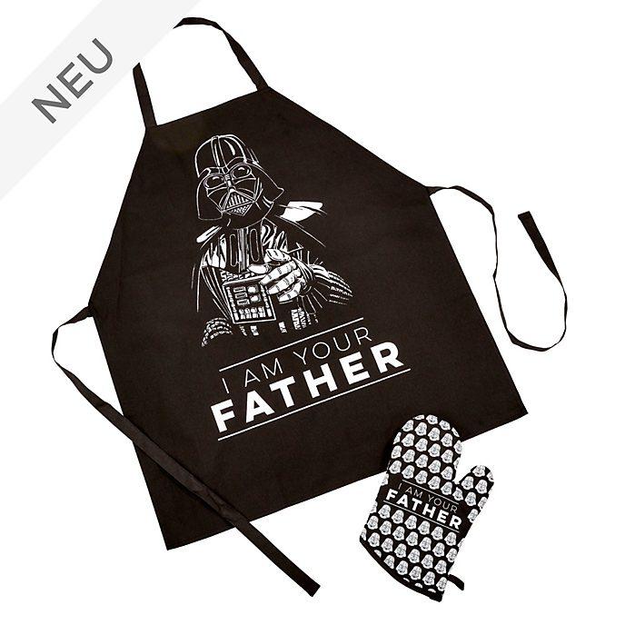 Funko - Darth Vader - Set mit Schürze und Ofenhandschuhen für Erwachsene