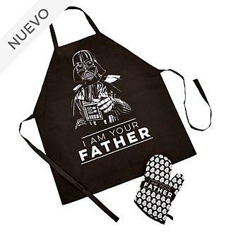 Funko juego delantal y manopla para el horno Darth Vader para adultos