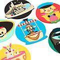 Walt Disney World Coaster Set by Jerrod Maruyama