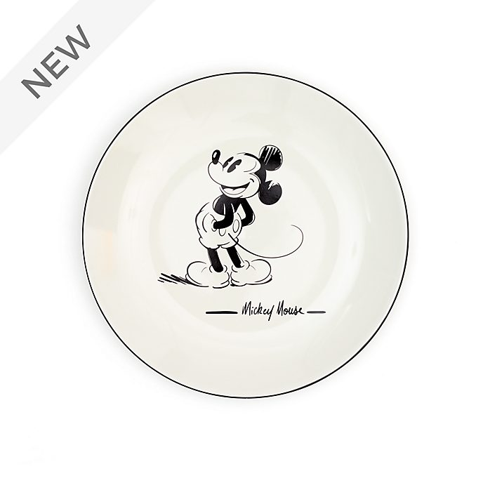 Disney Store Mickey Mouse Signature Large Plate