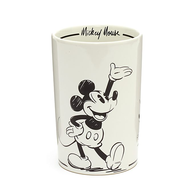 Disney Store Mickey Mouse Signature Utensil Holder
