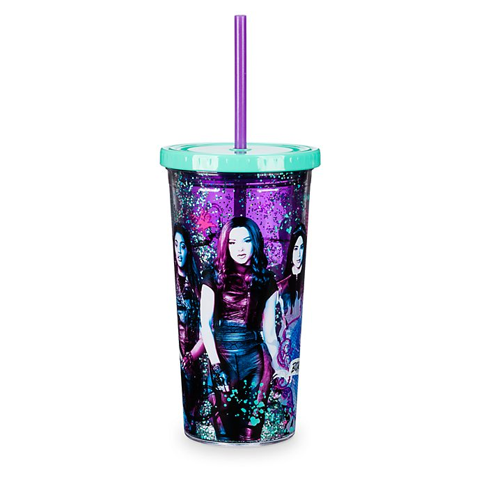 Disney Store Gobelet avec paille Disney Descendants 3
