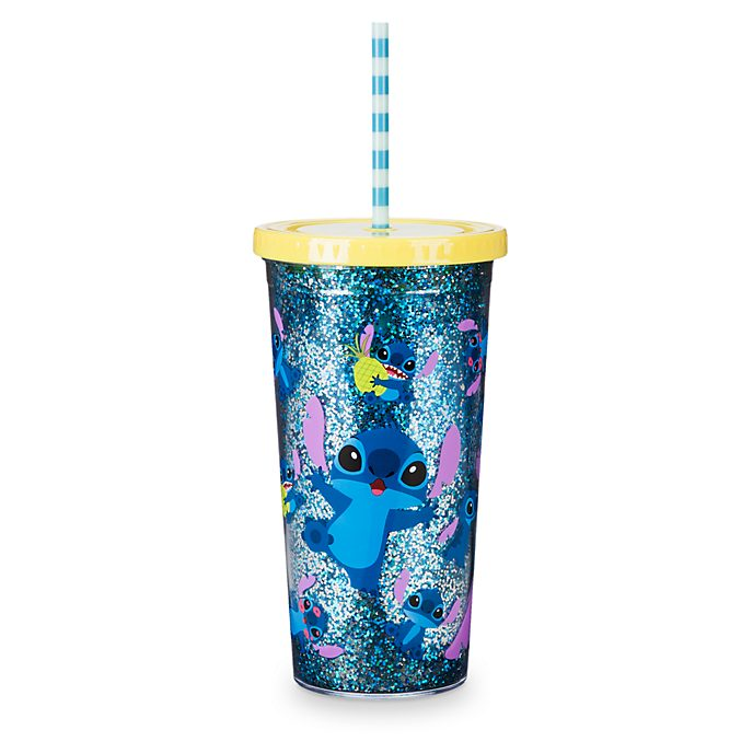 Disney Store Stitch Straw Tumbler