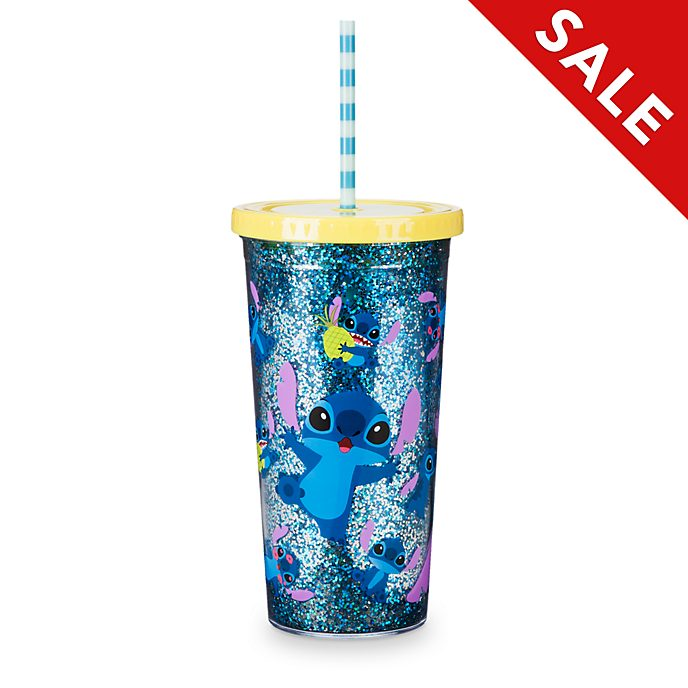 Disney Store Stitch Straw Tumbler