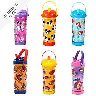 Collezione bottiglie per l'acqua che cambiano colore Disney Store