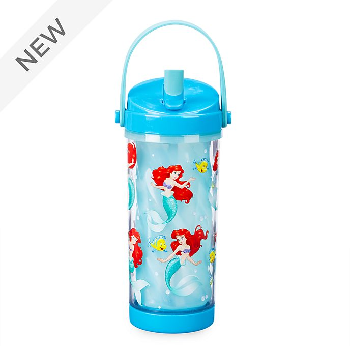 Disney Store The Little Mermaid Colour Changing Water Bottle