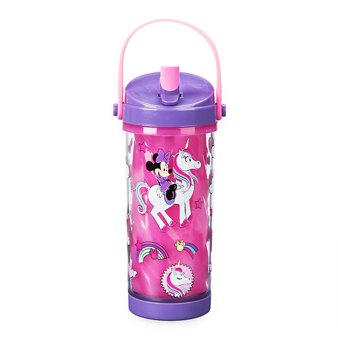 Disney Store Minnie Mouse Colour Changing Water Bottle