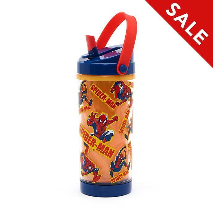 Disney Store Spider-Man Colour Changing Water Bottle
