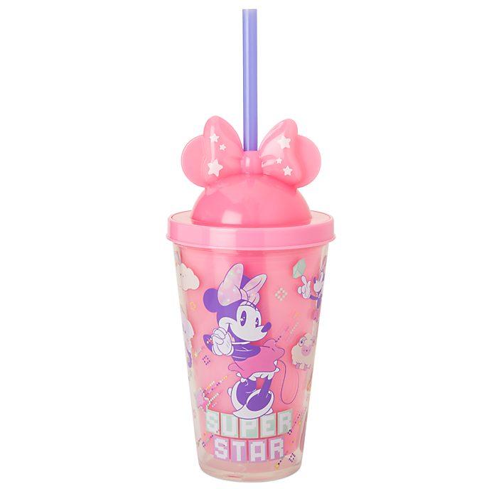 Disney Store Gobelet lumineux avec paille Minnie Mystical