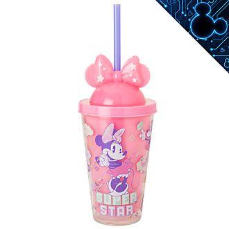 Vaso con pajita iluminado Minnie Mouse Mystical, Disney Store