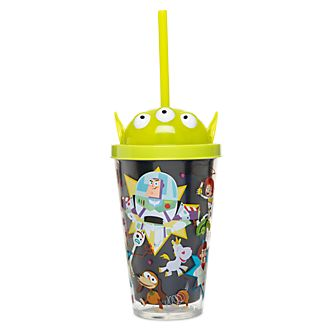 Disney Store Toy Story Light-Up Straw Tumbler
