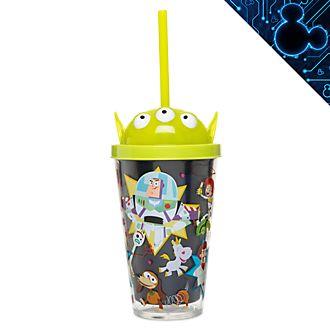 Bicchiere che si illumina con cannuccia Toy Story Disney Store