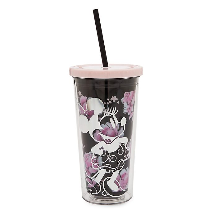 Disney Store Gobelet avec paille Positively Minnie