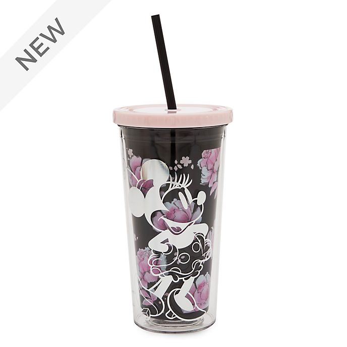 Disney Store Positively Minnie Straw Tumbler
