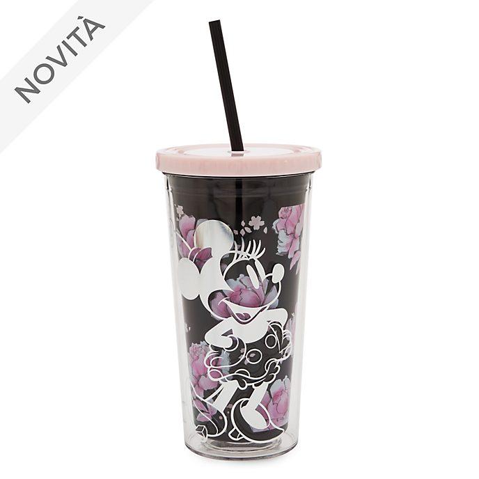 Bicchiere con cannuccia Positively Minnie Minni Disney Store