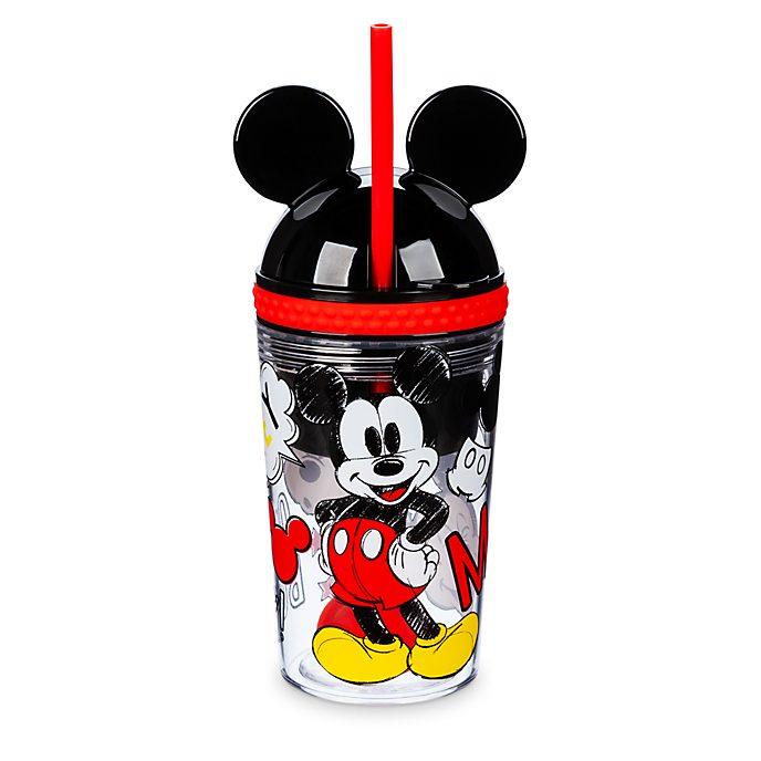 Fiambrera y vaso con pajita Mickey Mouse, Disney Store