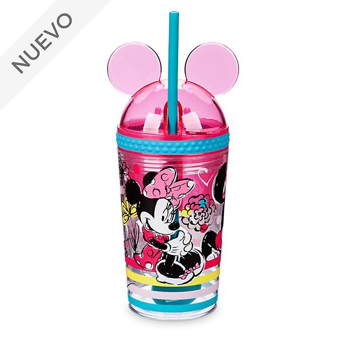 Fiambrera y vaso con pajita Minnie Mouse, Disney Store