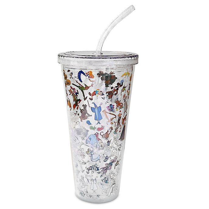Disney Parks Ink & Paint Straw Tumbler