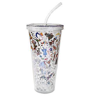 Bicchiere con cannuccia Ink & Paint Parchi Disney