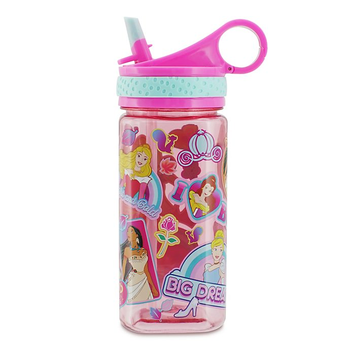 Bottiglia per l'acqua Principesse Disney rosa, Disney Store