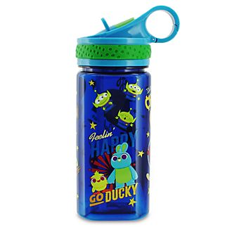 Disney Store Toy Story 4 Blue Water Bottle