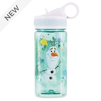 Disney Store Frozen 2 Blue Water Bottle