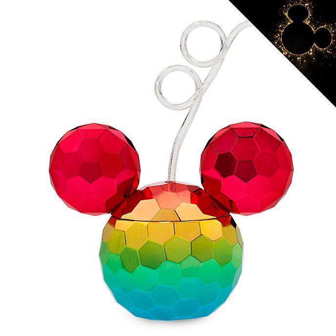 Disney Store Mickey Mouse Rainbow Disney Straw Tumbler