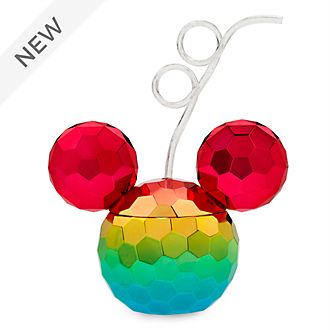 Disney Store Mickey Mouse Rainbow Disney Straw Tumbler