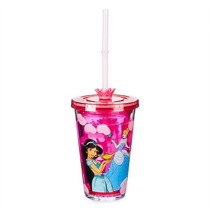 Disney Store Gobelet avec paille Princesses Disney