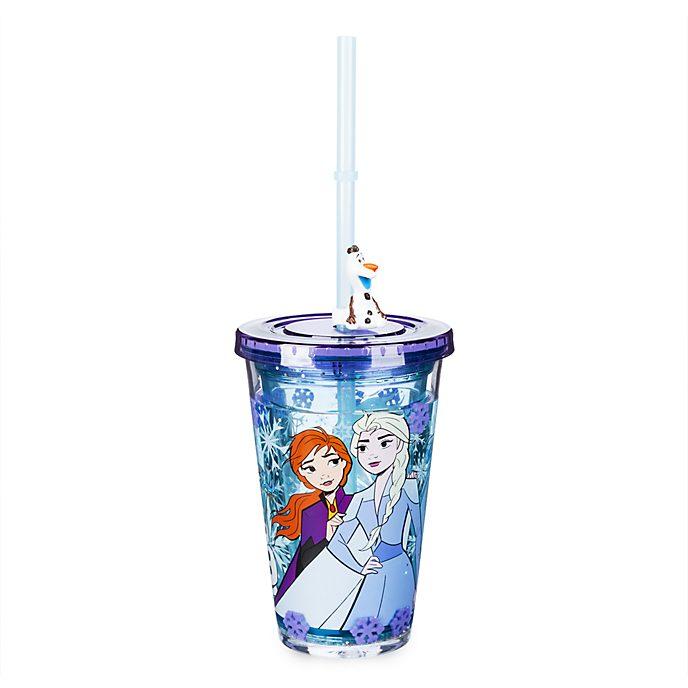 Disney Store Gobelet avec paille La Reine des Neiges2