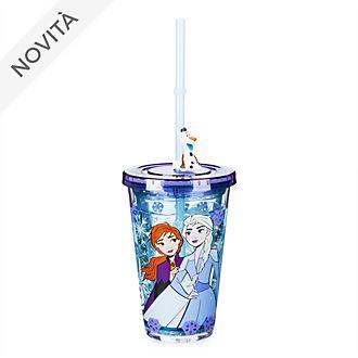 Bicchiere con cannuccia Frozen 2: Il Segreto di Arendelle Disney Store