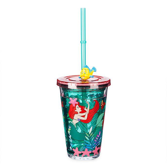 Vaso con pajita La Sirenita, Disney Store