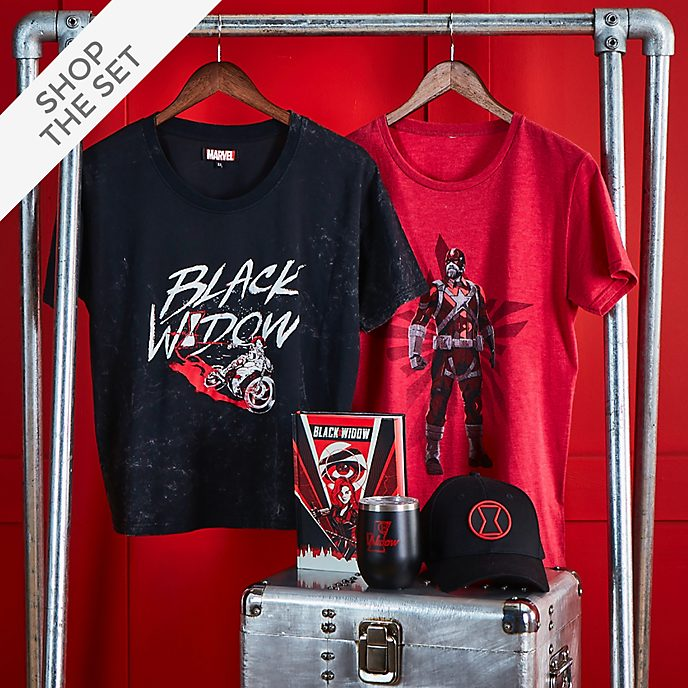 Disney Store Black Widow Collection For Adults