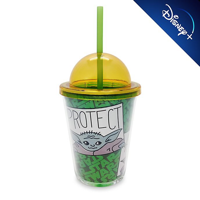 Disney Store - Star Wars: The Mandalorian - Grogu - Strohhalm-Becher