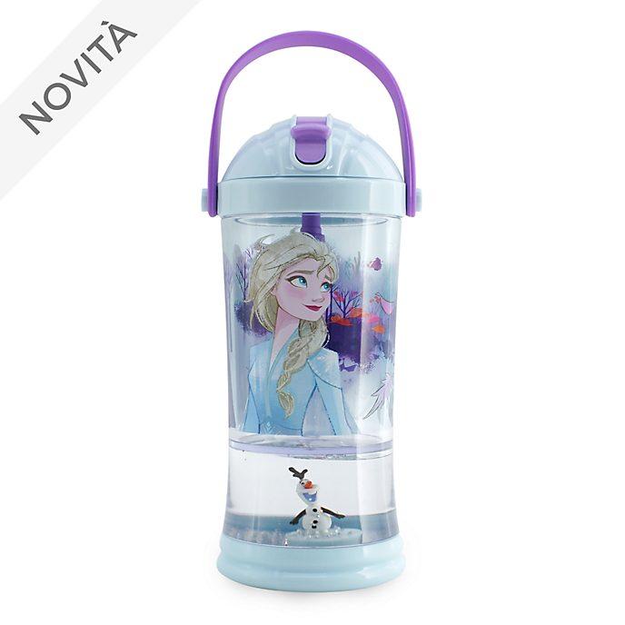 Bicchiere con palla di neve e cannuccia Frozen 2: Il Segreto di Arendelle Disney Store