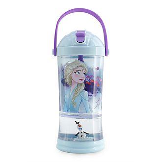 Disney Store Gobelet avec paille Boule à neige La Reine des Neiges2