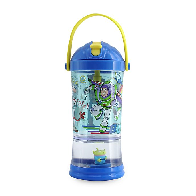 Vaso con pajita y bola nieve Toy Story 4, Disney Store