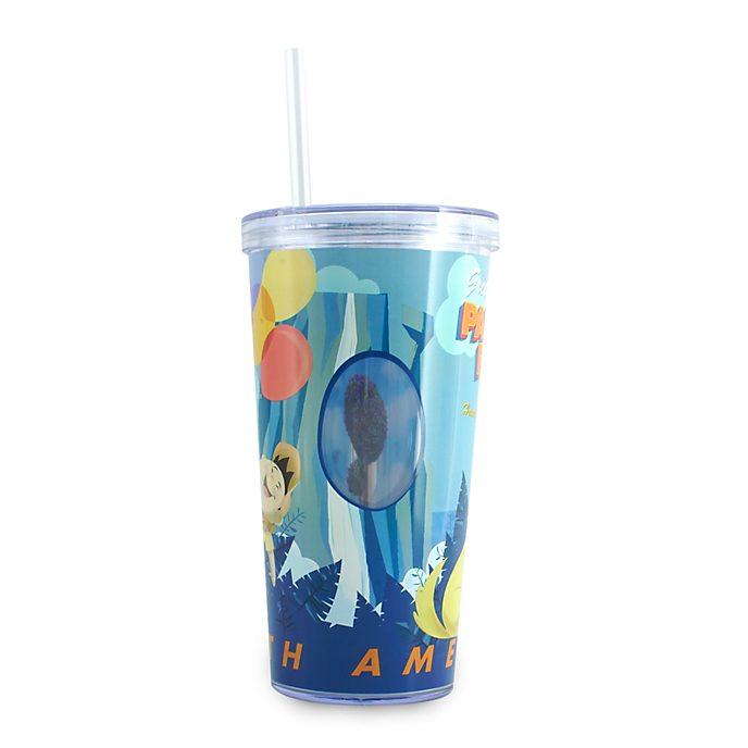 Bicchiere con cannuccia Up Disney Store