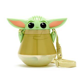 Disney Store Grogu The Child Flip Top Water Bottle, Star Wars