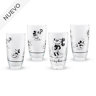 Vasos Mickey Mouse Signature, Disney Store (4 u.)